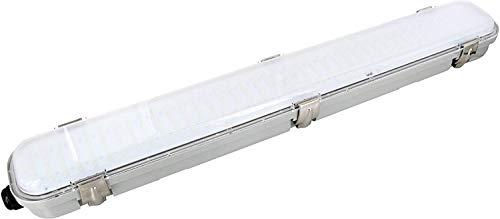LED Deckenleuchte IP65 mit 58GHz HF-Bewegungsmelder 360° - 18W 1350lm 600mm - tagesweiß 4000 K