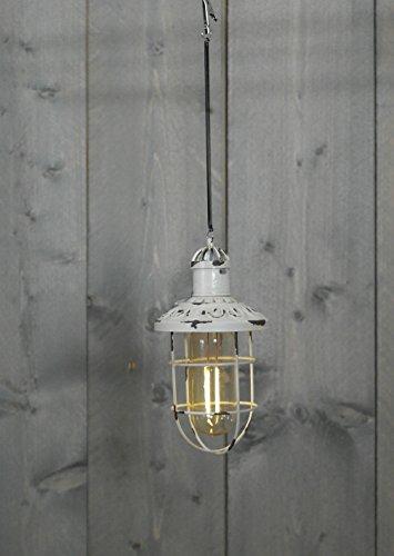 Solar Laterne Retro Bulb Stimmungsleuchten Party-Leuchte Dekoleuchte Dekoration für Garten Balkon Terrasse Altweiß