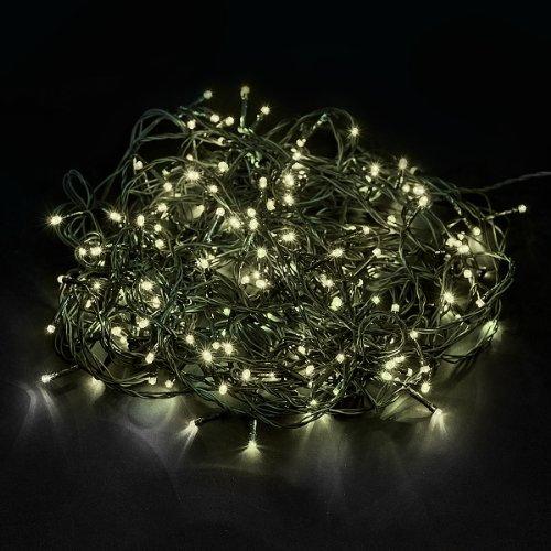 Tenia 200 LED Lichterkette Warmweiß InnenAußen 20M Weihnachten Gartenbeleuchtung