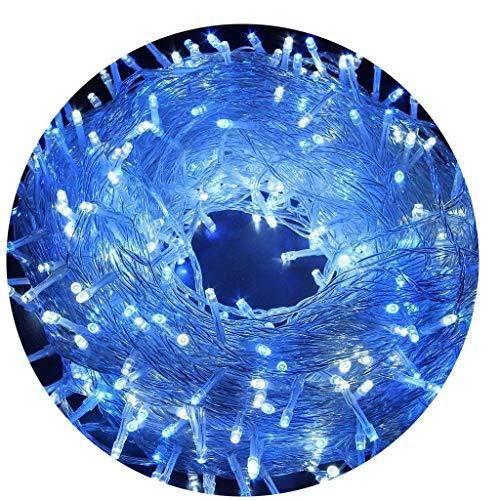 AIZESI Lichterkette Außen 20m LED Lichtschläuche Lichterkette mit Batterie Innen für Kinder SchlafzimmerHochzeitWeihnachtsbaumFestival PartyGartenPatioBlau