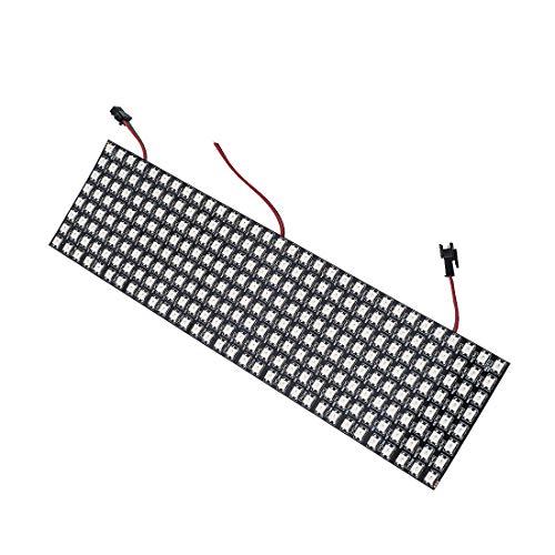 BTF-LIGHTING 024ft096ft Pixel 256 Pixels WS2812B Digital Flexible LED Panel Individually addressable Full Dream color lighting DC5V
