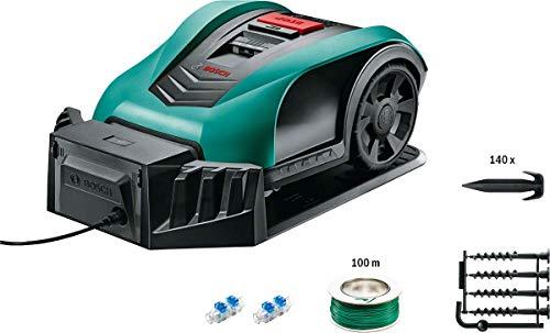 Bosch Mähroboter Indego 350 Connect mit App Funktion 19 cm Schnittbreite Rasenfläche bis zu 350 m²