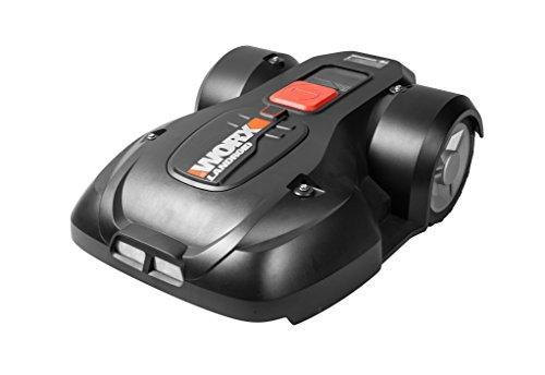 Worx Landroid L1500i Mähroboter – Automatischer Rasenmäher für bis zu 1500 qm mit WLAN-Verknüpfung App-Steuerung und verstellbarer Schnitthöhe – 70 x 52 x 26 cm L x B x H