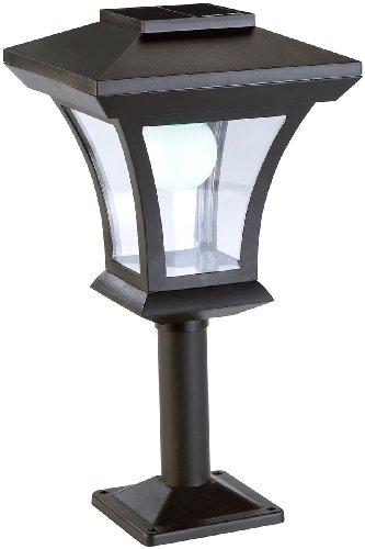 Lunartec Solarlampe Solar-LED-Standleuchte SWL-05 im Laternen-Design 45 Lumen 03 Watt Garten Standleuchte Solar