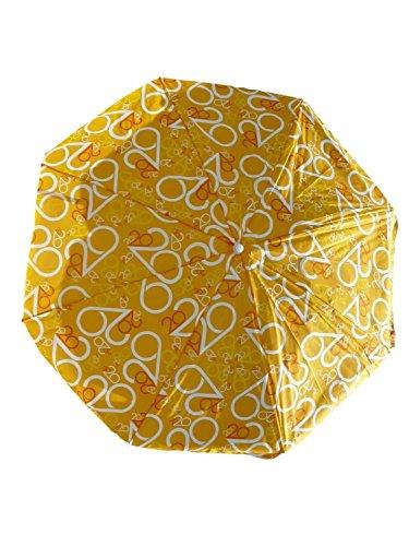 Sonnenschirm Ø 180 cm Schirm Ideal für Balkon Garten und Strand Sonnenschutz SO24