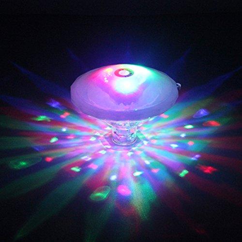 NetBoat Unterwasser Licht Multifarbige LED Pool-Beleuchtung mit RGB und 7 Modi Disco Beleuchtung Licht Badewanne LED Spielzeug Für den Teich Pool Spa Oder Whirlpool Batterie nicht enthalten