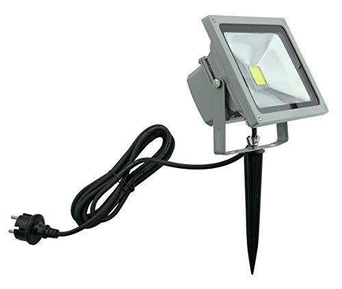 Trango 20 Watt IP65 LED Gartenstrahler Baustrahler Arbeitstrahler Teichstrahler Sicherheitstrahler 6000K TG3086