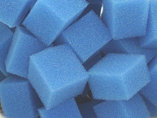 Biowürfel Filterwürfel PPI 30 mittel-fein ca 50 Liter Schüttware lose im Karton verpackt für Teichfilter Aquarien Koi Filter Biowuerfel