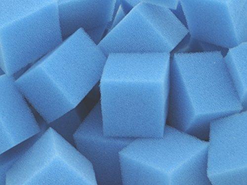 Biowürfel Filterwürfel PPI 45 fein ca 200 Liter Schüttware lose im Karton verpackt für Teichfilter Aquarien Koi Filter Bio