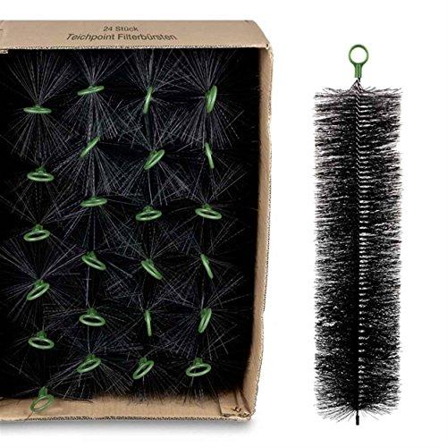 Wagner GREEN 24 Stück Filterbürsten für Ihren Teichfilter und Koi Teich Filter 80x15 cm