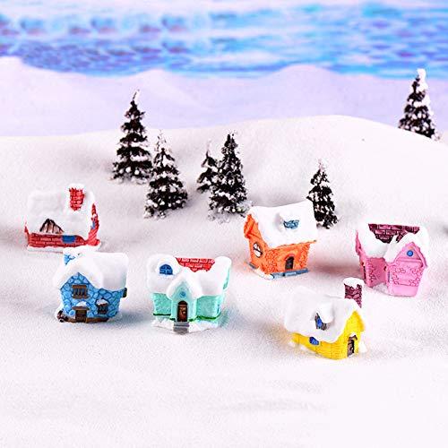 Sanwood Miniatur-Figur Feengarten Miniatur-Dekoration für Süßigkeitenhaus Puppenhaus Pflanzentopf Heimdekoration