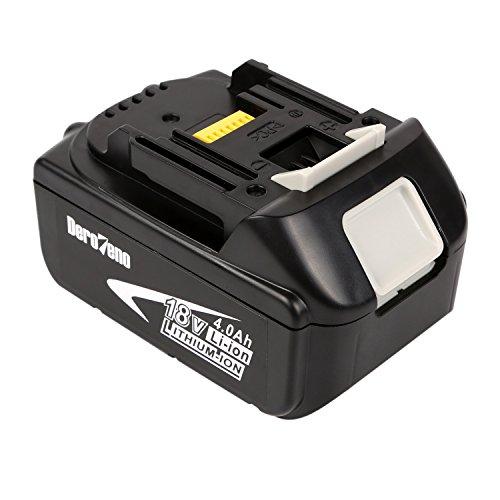 DeroTeno 18V 40Ah Li-ion Werkzeugakku Akku Für Makita BL1830 BL1840 BL1850 194205-3194309-1 BL1815LXT400