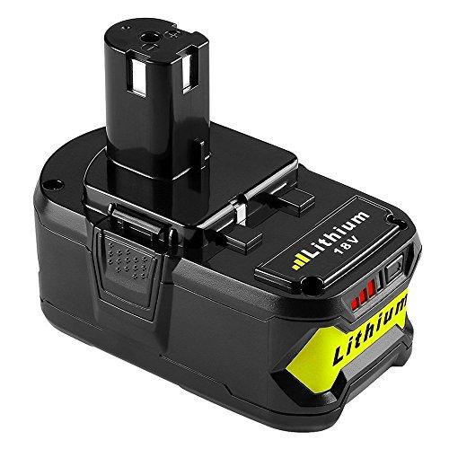 Forrat P108 18V 50Ah Lithium Akku Ersatzakku Werkzeugakkus für Ryobi Akku One RBL1850 P104 P105 P102 P103 P107 P108