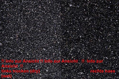 50 Säcke a´20 Kg Glanzkies schwarz 1-3mm Zierkies - getrommeltes Material 9879001275
