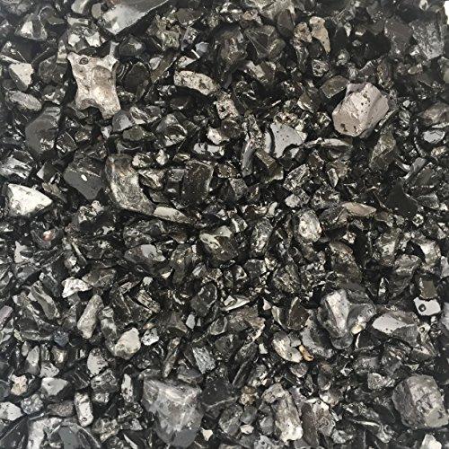 Zierkies 516mm schwarzanthrazit gerundet Dekoration für Haus und Garten 1 kg