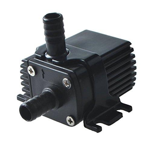 Tangda DC 12V Wasserpumpe Tauchpumpe für CPU-Kühl 63GPH 97ft DC30A-1230 DC Brushless Water Pump Gartenpumpe