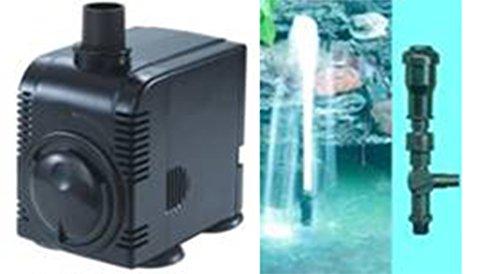 Wasserfarm Garten-Teiche Springbrunnen-Set inkl PumpeAufsatz Fontaenen-Set Spring-Brunnen Pons-Fountain Kid 5694