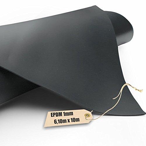 Firestone EPDM Kautschuk-Teichfolie Pondgard 1mm in 610m x 10m