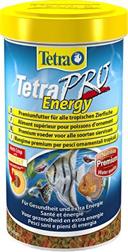 Tetra Pro Energy Premiumfutter für alle tropischen Zierfische mit Energiekonzentrat für extra Wohlbefinden Vitaminstabilität und hoher Nährwert 500 ml Dose