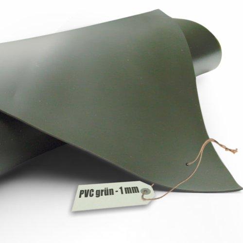 Teichfolie PVC 1mm oliv grün in 6m x 7m