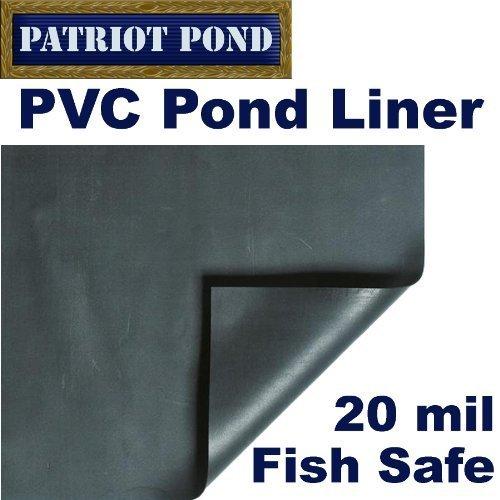 Patriot PVC-Teichfolie 3 x 46 m 20 mm