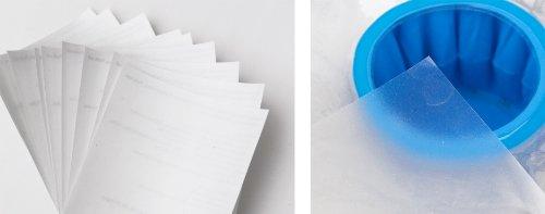 3-W-Hohenlimburg 0016 10er Reparatur Pool Flicken 10 Stück - Flicken von Löchern in Pools Teich Folien Poolflicken Klebeflicken Flicken Folie 7x7 cm Reparaturfolie zum Reparieren von Rissen und Schäden an der Poolfolie oder Teichfolie