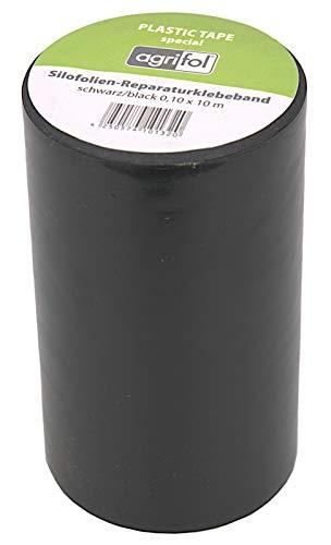 ecosoul Reparaturklebeband für Teichfolie Folie jeder Art 10cm x 10m extrem Hohe Klebekraft Schwarz
