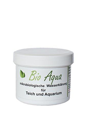 BioAqua  Wasserklärung für Teich und Aquarium  für Komplette Saison  Gegen Faden- Schmieralgen und grünes Wasser