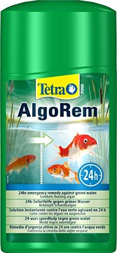 Tetra Pond AlgoRem 24-Stunden-Soforthilfe gegen grünes Wasser im Gartenteich 1 L Flasche