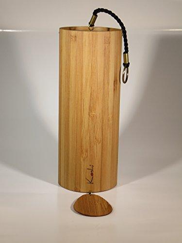 Klangspiel Koshi FEUER  IGNIS Windspiel Yoga Entspannung Oberton Gartendeko Baby Senioren Wellness Klangtherapie Bambus