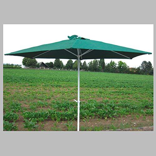 DEMA Kurbel Sonnenschirm Action 3m grün