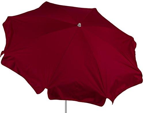 beo Sonnenschirme wasserabweisender rund Durchmesser 180 cm rot