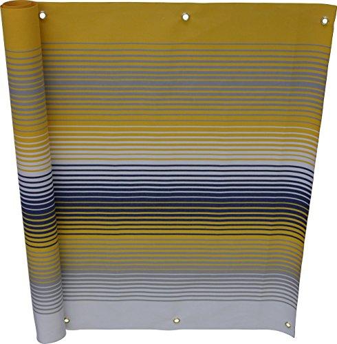 Angerer Balkonbespannung Nr 500 gelb 75 cm hoch Länge 6 Meter 3318500_600