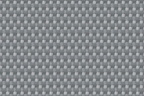 Sellon24 Polyrattan Balkonverkleidung Sichtschutz Balkonsichtschutz anthrazit braun weiß schwarz Kupfer grün Meterware Balkonbespannung 1749€  Quadratmeter H 110cm RD17 - Silber Grey