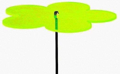 Sonnenfänger Blume groß Ø 16 cm Farbe wählbar grün