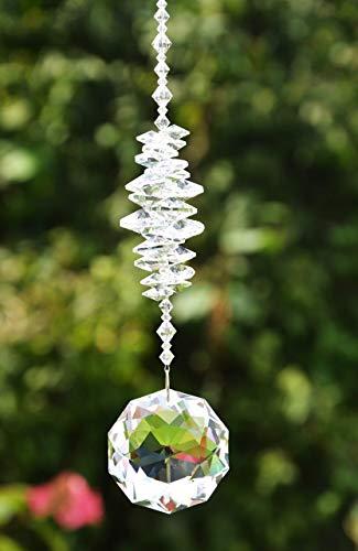 Sonnenfänger Dahlia - handgearbeitet aus funkelnden Kristallen von Swarovski Geschenk Hochzeit Einzug Jubiläum