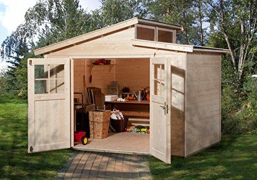 weka Gartenhaus 226 Gr3 natur 21 mm