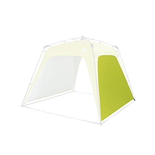 Lumaland Outdoor Seitenteil für Pop Up Pavillon Seitenwand für Gartenzelt Camping Partyzelt Zelt grün