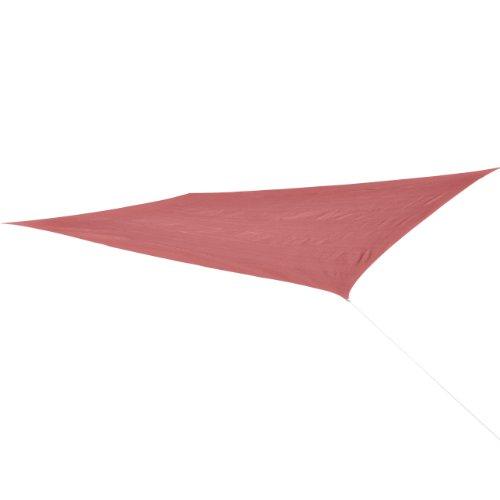 Corasol COR11RE6X4-RR Premium Sonnensegel 6 x 4 m rechteckig wasserabweisend rostrot
