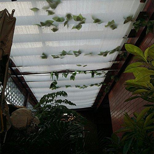 Frilivin Sonnensegel Rechteckig Sonnenschutz Garten UV Schutz Premium Schatten Tuch Markisen Weiß 1x2m