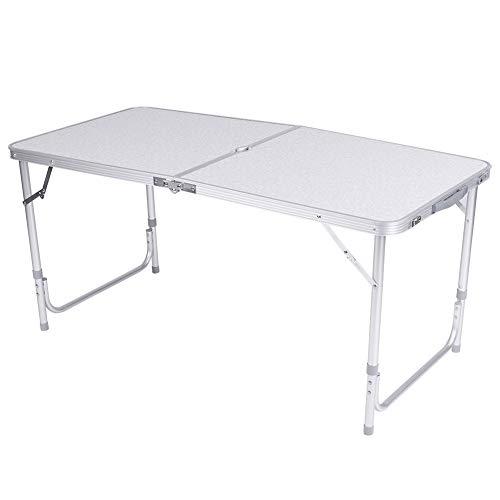 Cocoarm Klapptisch Campingtisch aus Aluminium Klappbarer Multifunktionstisch Gartentisch 120 x 70 x 60 cm