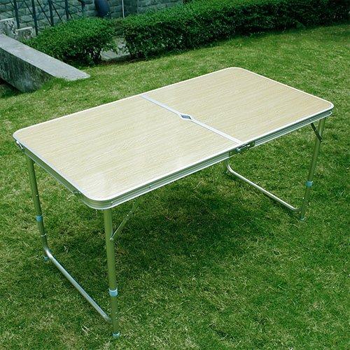 miahomeKlapptisch Campingtisch Koffertisch Tisch klappbar 120x60x7054CM ca60x60x7cm