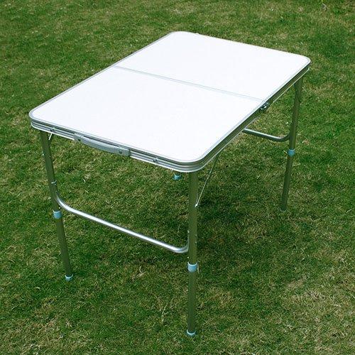 miahomeKlapptisch Campingtisch Koffertisch Tisch klappbar 90x60x7040CM weiß