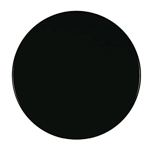 Werzalit Tischplatte Dekor schwarz 60 cm rund Wetterfest Ersatztischplatte Bistrotisch Stehtisch Tisch Gastronomie