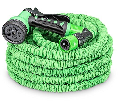 tillvex flexiSchlauch - flexibler Gartenschlauch 225m ausgedehnt Testurteil GUT Wasserschlauch flexibel Gartenteichschlauch dehnbar
