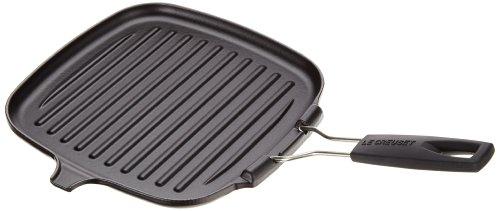 Le Creuset quadratisch Steakgrillpfanne Gusseisen schwarz 312 x 296 x 138 cm