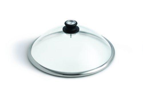 LotusGrill Glashaube aus Sicherheitsglas - Speziell entwickelt für den raucharmen HolzkohlegrillTischgrill - Neu