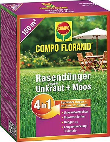 COMPO FLORANID Rasendünger COMPO RASENDÜNGER 4IN1 225KG 26170
