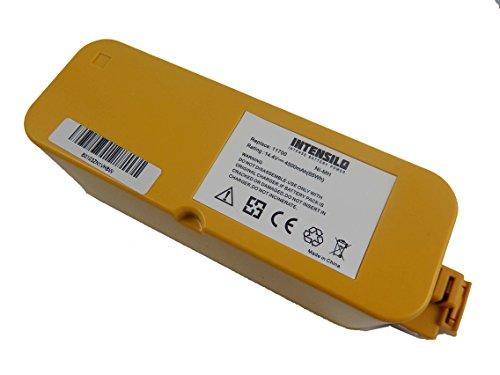 INTENSILO NiMH Akku 4500mAh 144V für Haushalt Saugroboter Sichler PCR-2350 LX Reinigungs-Roboter wie 11700 17373 ua