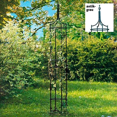 Gärtner Pötschke Rankhilfe Obelisk Empire antik-grau